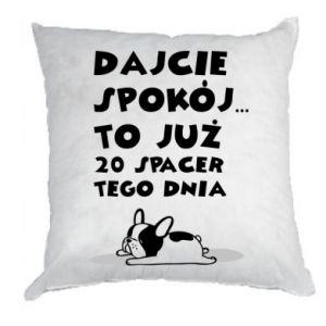 Pillow 20TH WALK