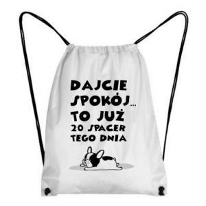 Plecak-worek DWUDZIESTY SPACER