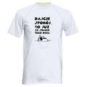 Men's sports t-shirt 20TH WALK