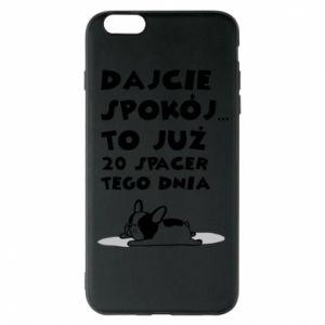 Phone case for iPhone 6 Plus/6S Plus 20TH WALK