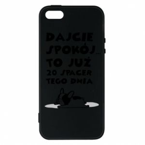 Phone case for iPhone 5/5S/SE 20TH WALK