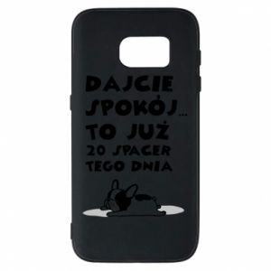 Phone case for Samsung S7 20TH WALK