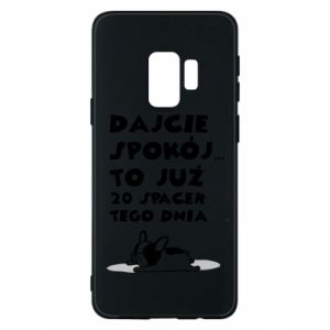 Phone case for Samsung S9 20TH WALK