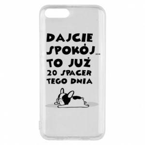 Phone case for Xiaomi Mi6 20TH WALK