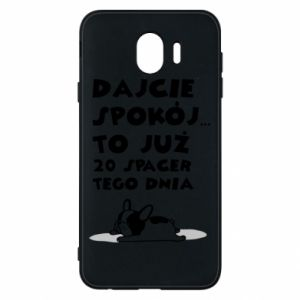 Phone case for Samsung J4 20TH WALK