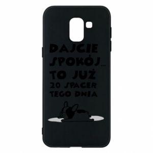 Samsung J6 Case 20TH WALK