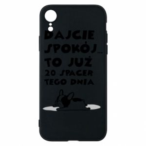 Phone case for iPhone XR 20TH WALK