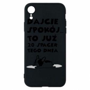 iPhone XR Case 20TH WALK