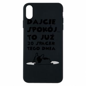 Phone case for iPhone Xs Max 20TH WALK