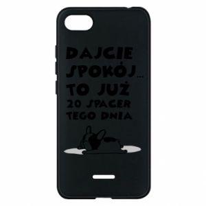 Phone case for Xiaomi Redmi 6A 20TH WALK