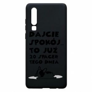 Phone case for Huawei P30 20TH WALK