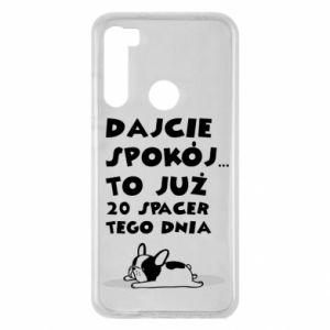 Xiaomi Redmi Note 8 Case 20TH WALK