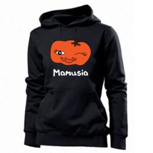Women's hoodies Pumpkin. Mommy