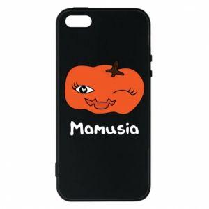 Etui na iPhone 5/5S/SE Dynia. Mamusia - PrintSalon