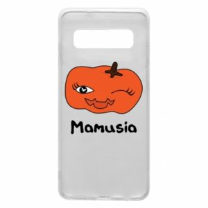 Phone case for Samsung S10 Pumpkin. Mommy