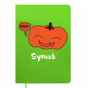 Notepad Pumpkin. Son