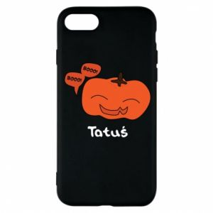 Phone case for iPhone 8 Pumpkin. Daddy
