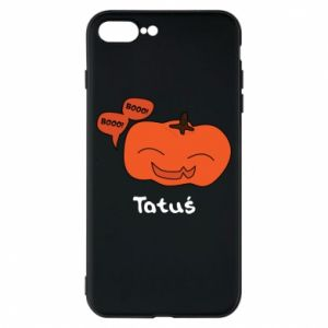 Phone case for iPhone 8 Plus Pumpkin. Daddy