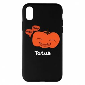 Phone case for iPhone X/Xs Pumpkin. Daddy
