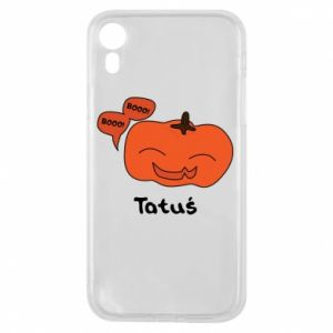 Phone case for iPhone XR Pumpkin. Daddy