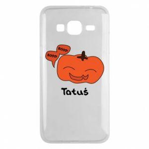 Phone case for Samsung J3 2016 Pumpkin. Daddy