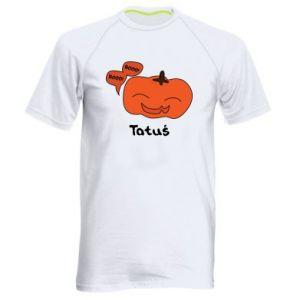 Men's sports t-shirt Pumpkin. Daddy