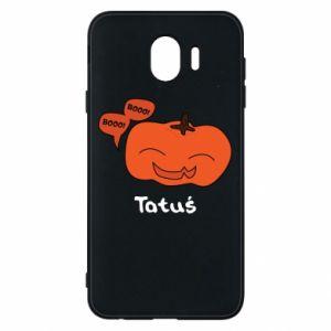 Phone case for Samsung J4 Pumpkin. Daddy