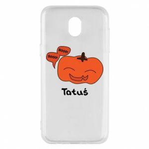 Phone case for Samsung J5 2017 Pumpkin. Daddy