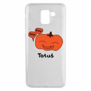 Phone case for Samsung J6 Pumpkin. Daddy