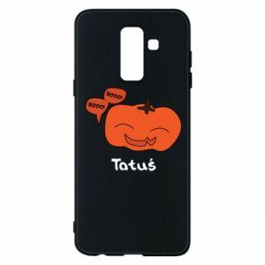 Phone case for Samsung A6+ 2018 Pumpkin. Daddy