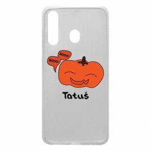 Phone case for Samsung A60 Pumpkin. Daddy