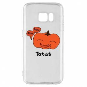 Phone case for Samsung S7 Pumpkin. Daddy