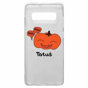 Phone case for Samsung S10+ Pumpkin. Daddy