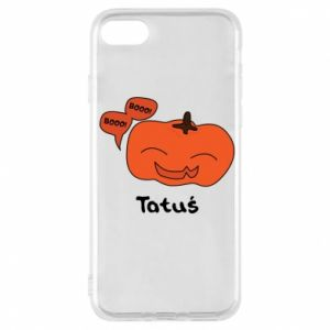 Phone case for iPhone 7 Pumpkin. Daddy