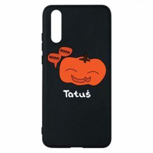Phone case for Huawei P20 Pumpkin. Daddy