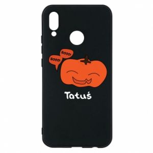 Phone case for Huawei P20 Lite Pumpkin. Daddy