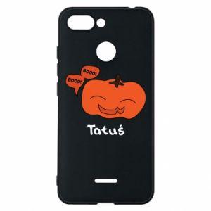 Phone case for Xiaomi Redmi 6 Pumpkin. Daddy