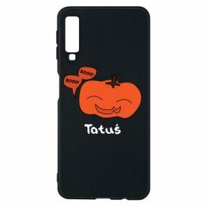 Phone case for Samsung A7 2018 Pumpkin. Daddy