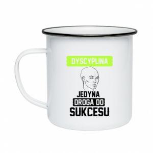 Enameled mug Discipline