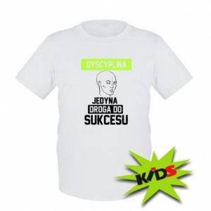 Kids T-shirt Discipline