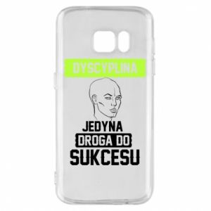 Phone case for Samsung S7 Discipline