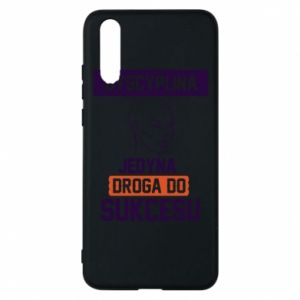 Phone case for Huawei P20 Discipline