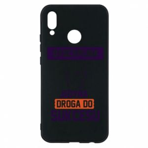 Phone case for Huawei P20 Lite Discipline