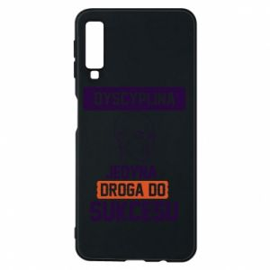 Phone case for Samsung A7 2018 Discipline