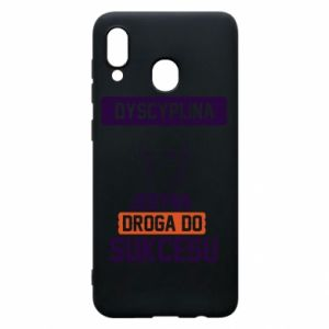 Phone case for Samsung A30 Discipline