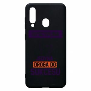 Phone case for Samsung A60 Discipline