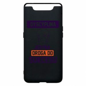 Phone case for Samsung A80 Discipline