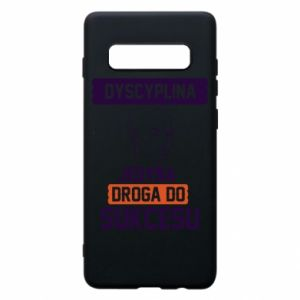 Phone case for Samsung S10+ Discipline