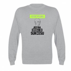 Kid's sweatshirt Discipline