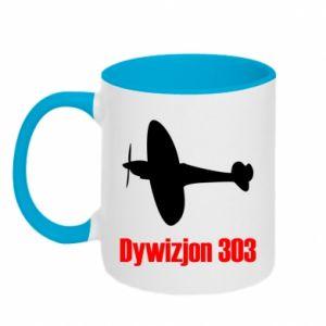 Two-toned mug Division 303 - PrintSalon